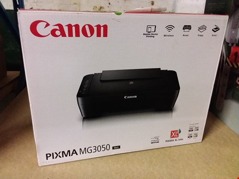 Lot 12826 BOXED CANON PIXMA MG3050 PRINTER