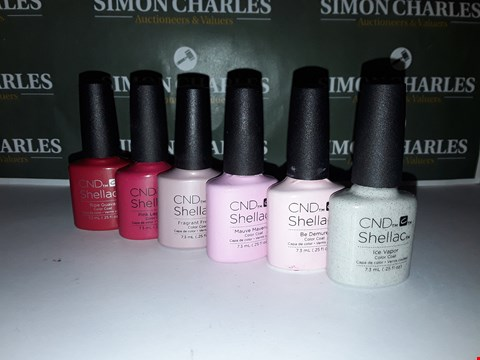 Lot 53 LOT OF 6 ASSORTED CND SHELLAC PRODUCTS