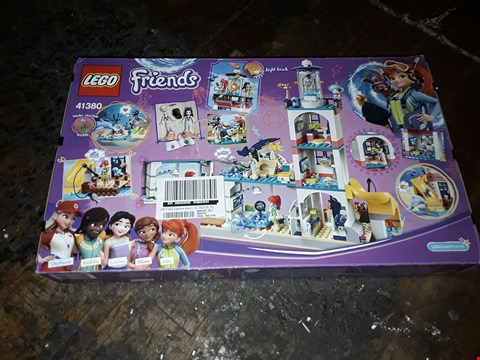 Lot 4077 LEGO FRIENDS 41380 LIGHTHOUSE RESCUE CENTER SET  RRP £54.99