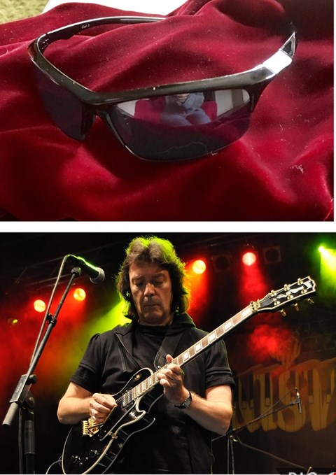 Lot 4 SHADES DONATED BY GENESIS GUITARIST STEVE HACKETT