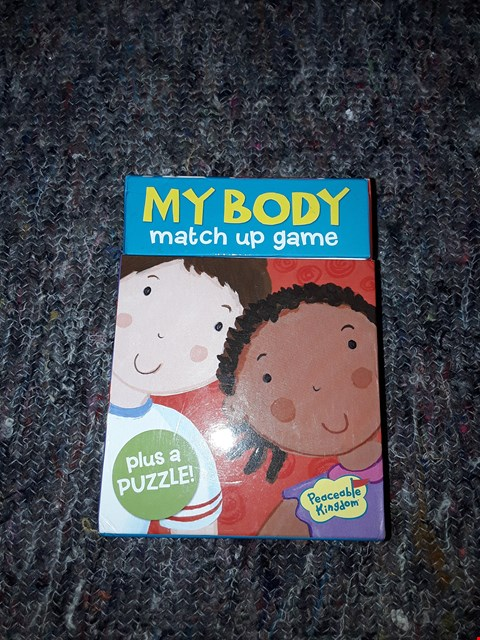 Lot 2480 MY BODY - MATCH UP MEMORY GAME
