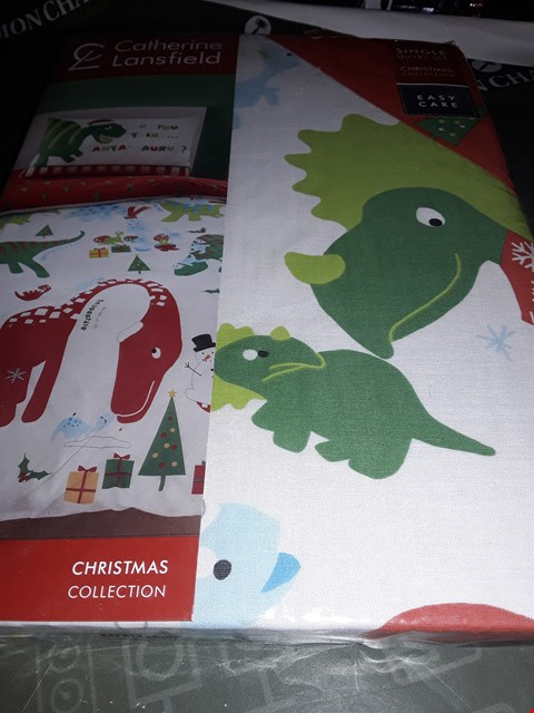 Lot 5007 CATHERINE LANSFIELD XMAS DUVET SET SINGLE