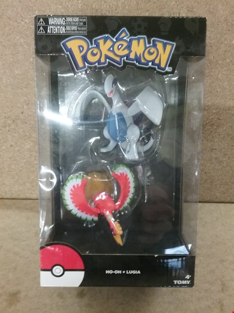Lot 357 BOXED BRAND-NEW POKEMON HO-OH AND LUGIA FIGURES