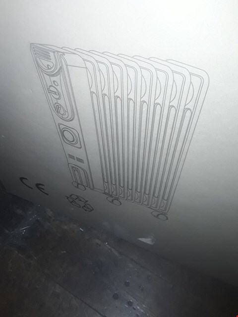Lot 1802 SWAN SH1016 2000W OIL-FILLED RADIATOR WITH TIMER RRP £89.99
