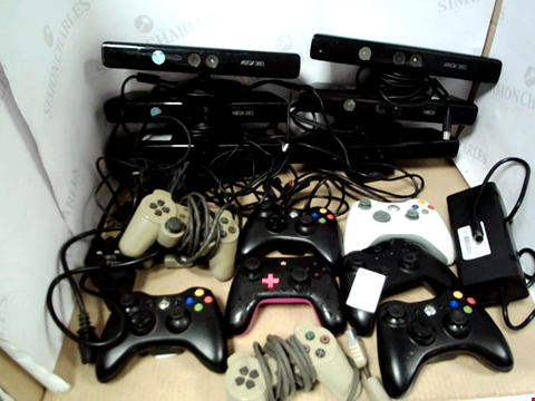Lot 7729 BOX OF ASSORTED VIDEO GAME CONSOLES AND ACCESSORIES