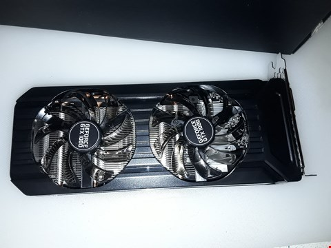 Lot 4296 PALIT GEFORCE GTX 1080 GRAPHIX CARD
