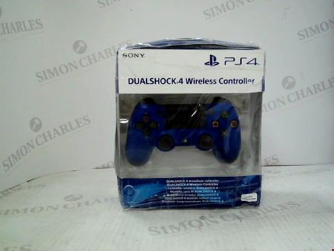 Lot 3028 BOXED SONY PLAYSTATION 4 DUAL SHOCK 4 WIRELESS CONTROLLER