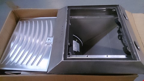 Lot 41 BOXED 60CM ANGLE GLASS STAINLESS STEEL HOOD Model AGS60SS