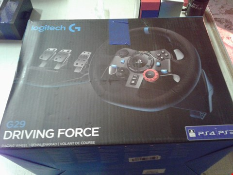 Lot 4258 LOGITECH G29 DRIVING FORCE STEERING WHEEL