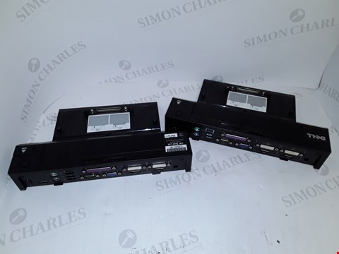 Lot 4134 LOT OF 2 ASSORTED DELL K09A E-PORT PLUSES