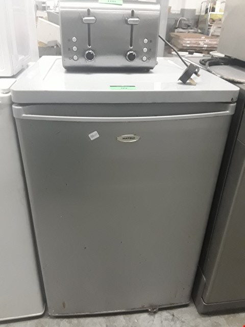 Lot 99 MATSUI SILVER UNDER COUNTER FRIDGE