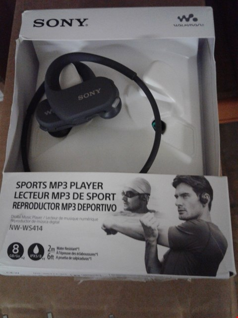Lot 9147 SONY SPORTS MP3 PLAYER NW-WS414