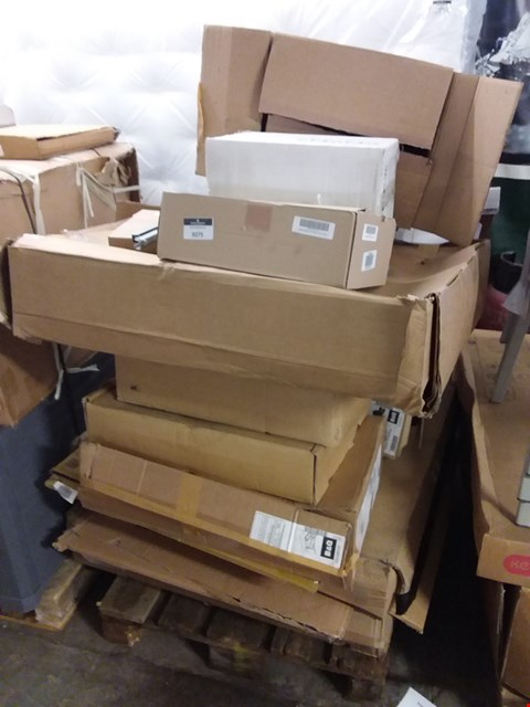 Lot 3075 PALLET OF ASSORTED FLAT PACK KITCHEN ITEMS  RRP £688