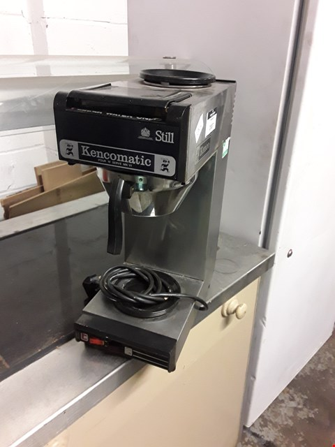 Lot 2007 KENCOMATIC STILL POUR 'N' SERVE COFFEE MACHINE