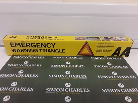 Lot 354 BOXED EMERGENCY WARNING TRIANGLE