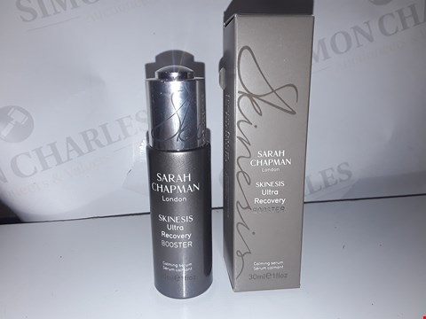 Lot 894 SARAH CHAPMAN LONDON SKINESIS ULTRA RECOVERY BOOSTER 30ML
