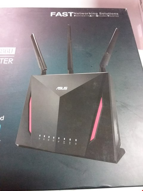 Lot 12223 ASUS WIRELESS AC2900 RTAC86U DUAL BAND GIGABIT ROUTER