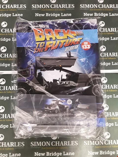 Lot 769 BOX OF APPROXIMATELY 13 ASSORTED PACKS OF BACK TO THE FUTURE BUILD THE DELOREAN