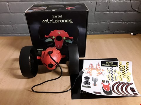 Lot 4160 BOXED PARROT MINI DRONES MAX JUMPING RACE DRONE