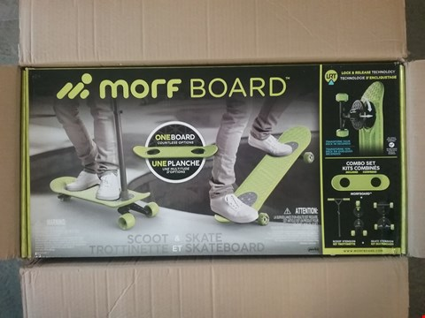 Lot 2717 BOXED GRADE 1 MORF BOARD SCOOT & SKATE RRP £125
