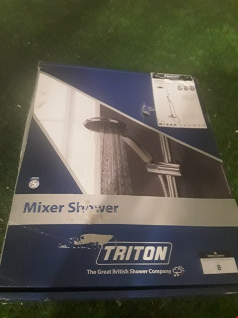 Lot 8 BOXED TRITON LEVANO THERMOSTATIC BAR MIXER SHOWER