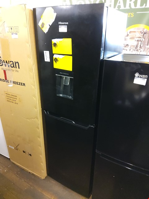 Lot 7046 HISENSE RB320D4WB1 FRIDGE FREEZER WITH WATER DISPENSER  RRP £349.00