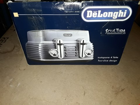 Lot 348 DELONGHI SCULTURA TOASTER