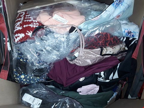 Lot 1345 CAGE OF ASSORTED UNPROCESSED ADULT CLOTHING (CAGE NOT INCLUDED)