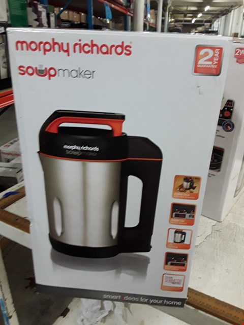 Lot 8389 MORPHY RICHARDS SOUP MAKER