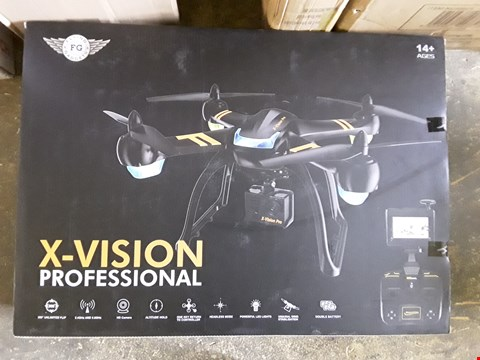 Lot 7479 X-VISION PROFESSIONAL DRONE WITH HD CAMERA