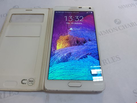 Lot 27 SAMSUNG NOTE 4 32GB MOBILE PHONE UNLOCKED