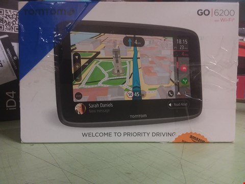 Lot 65 TOMTOM GO 6200 WITH WI-FI