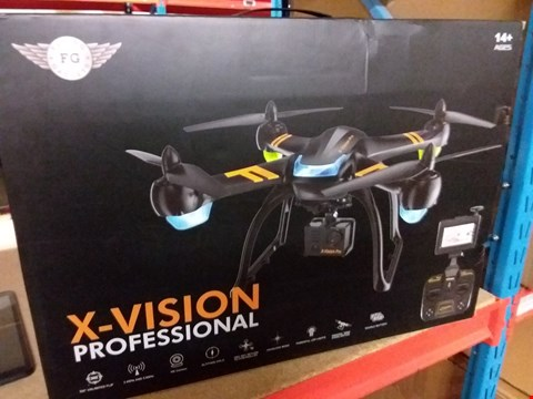 Lot 13899 X-VISION PROFESSIONAL DRONE WITH HD CAMERA