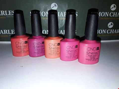 Lot 51 LOT OF 5 ASSORTED CND SHELLAC PRODUCTS