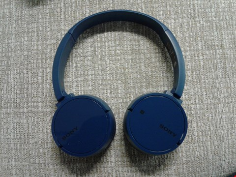 Lot 1098 SONY WH-CH500 WIRELESS BLUETOOTH HEADPHONES  RRP £54.99