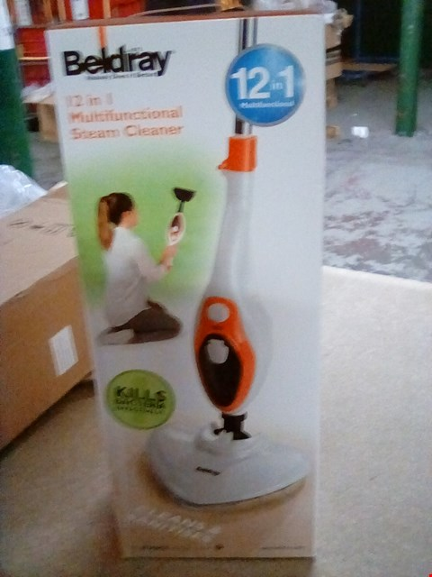 Lot 2100 BELDRAY 12 IN 1 MULTIFUNCTION STEAM CLEANER