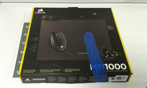Lot 6011 CORSAIR MM1000 QI WIRELESS CHARGING MOUSE PAD