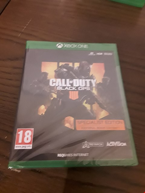 Lot 1013 CALL OF DUTY BLACK OPS IIII XBOX ONE GAME