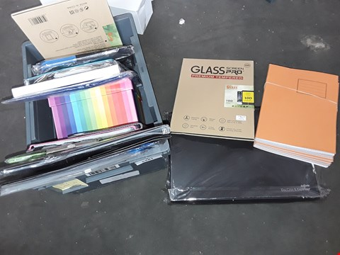 Lot 2581 BOX OF ASSORTED FILES, WORK BOOKS AND CASES