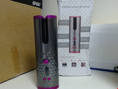 Lot 6510 WIRELESS USB AUTO CURLER