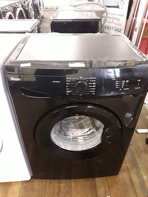 Lot 1 SWAN SW15810B 1200 SPIN BLACK WASHING MACHINE  RRP £279.99