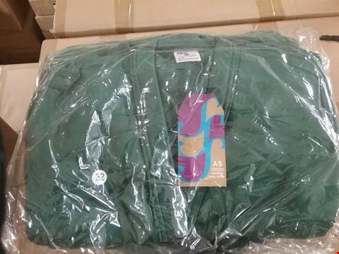 Lot 1355 BOX OF APPROXIMATELY 50 GIRLS CARDIGAN - BOTOL GREEN, SIZE - 24, 26, 28, 30, 32