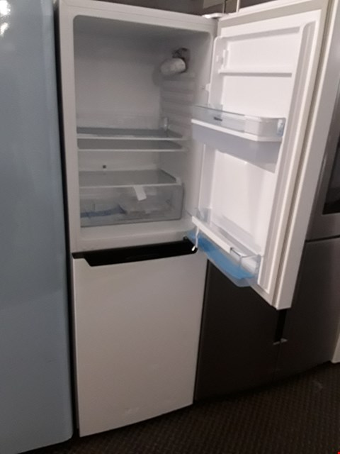 Lot 9033 HI-SENSE RB320D4WW1 50/50 FRIDGE FREEZER WITH WATER DISPENSER IN WHITE