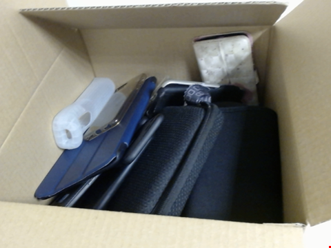 Lot 7743 QUANTITY OF ASSORTED CASES FOR SMART PHONES, TABLETS, WII CONTROLLERS AND PORTABLE GAMING DEVICES 30 X 30 X 30CM BOX
