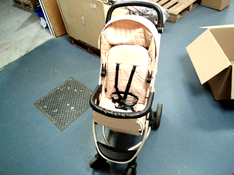 Lot 474 MY BABIIE BILLIE FAIERS MB200 STROLLER - ROSE GOLD  RRP £294.00