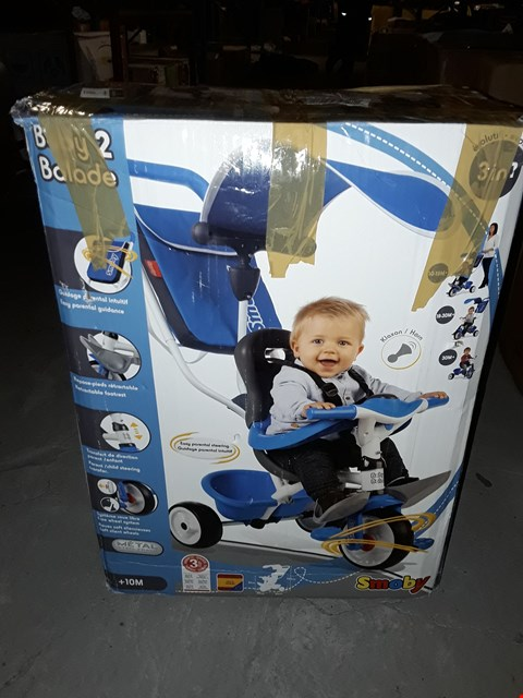 Lot 49 BOXED SMOBY BABY BALADE TRIKE  RRP £110