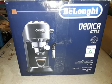 Lot 361 DELONGHI DEDICA COFFEE MACHINE