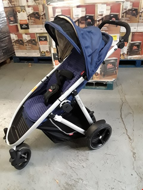 Lot 41 DESIGNER PHIL & TEDS NAVY BLUE STROLLER