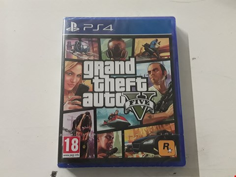 Lot 3043 LOT OF 3 BRAMD NEW ASSORTED GTA V GAMES FOR PS4 RRP £224.97