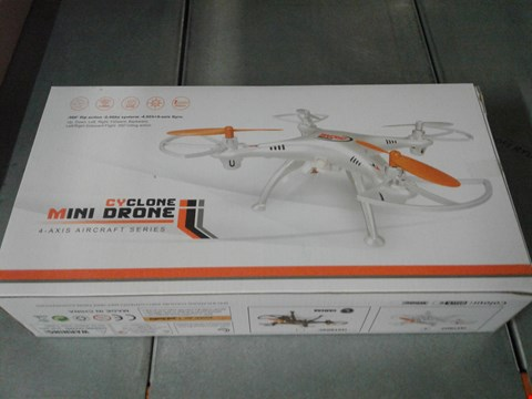 Lot 2115 CYCLONE MINI DRONE 4-AXIS AIRCRAFT SERIES
